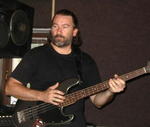 Mihai Zaharia - bass in PEACEFUL SOLDIER