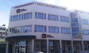 There is a Best Western, if you are looking for a familiar hotel name. ** TIP: Cab drivers know it as HOTEL REYKJAVIK.