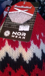 The loonie can't really buy you much in Rekjavik. A souvenir hat knitted in the national pattern carries a 33 CAD tag. ** TIP: Iceland is not a cheap destination.