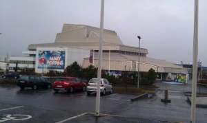 The national theatre is located behind the mall in Reykjavik, and you can see what they were playing in April 2013.