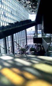 Daylight inside Harpa