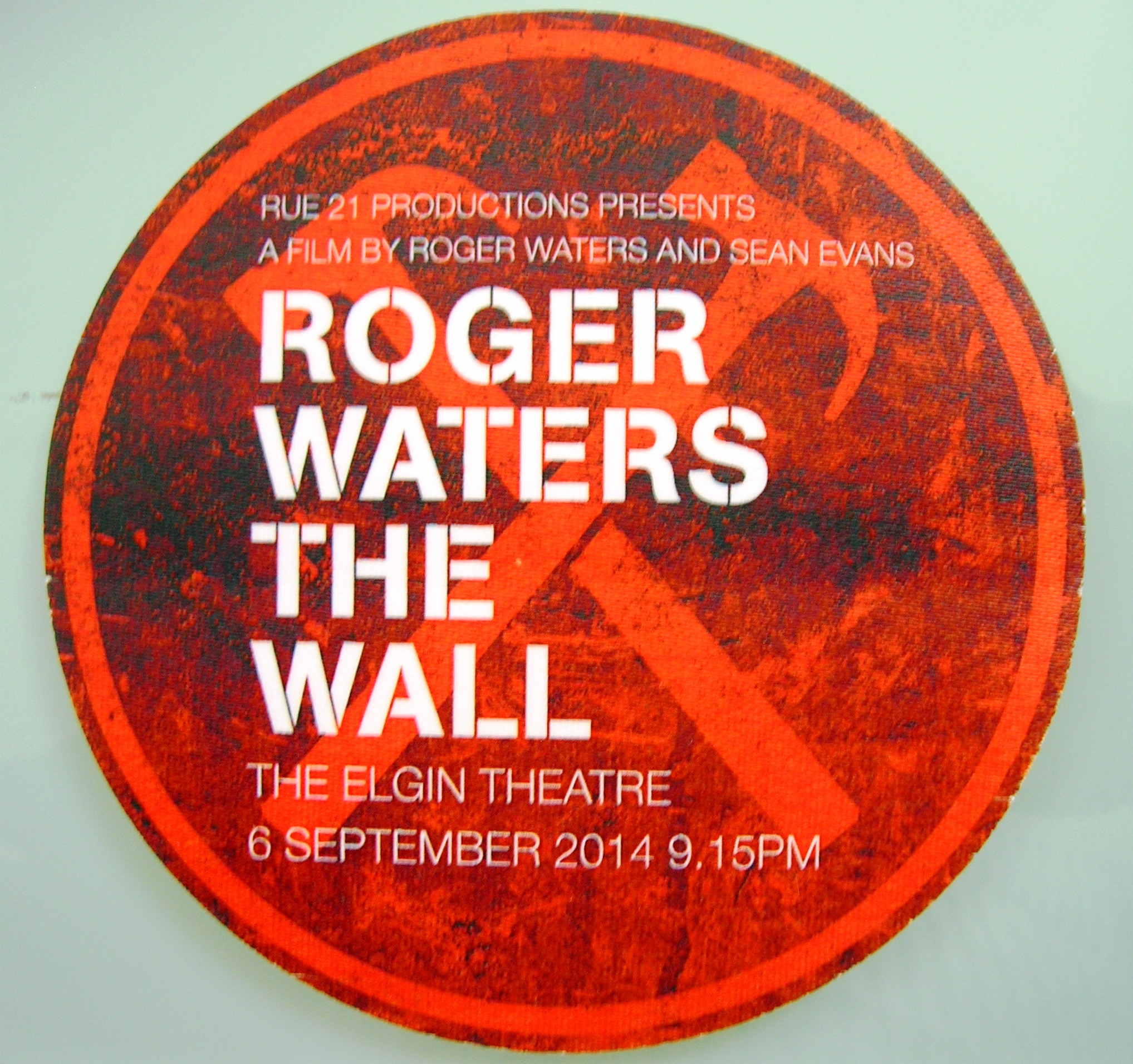 The world premiere of Roger Waters The Wall 2014 – Canadian ...