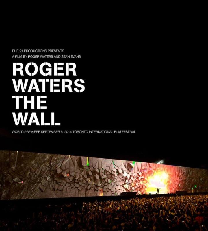 The official poster of the film. Source: Roger Waters wall on Facebok.