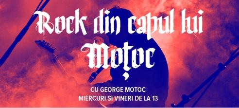 Rock din capul lui Motoc se difuzeaza saptamanal pe www.RadioTrib.ro