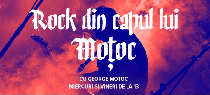 Logo oficial Rock din capul lui Motoc