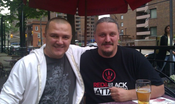 Cu Joe in 2012 la Ottawa, la o revedere dupa 15 ani.