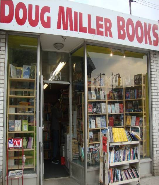 Doug Miller bookstore in K-town, Toronto (650 Bloor St West).