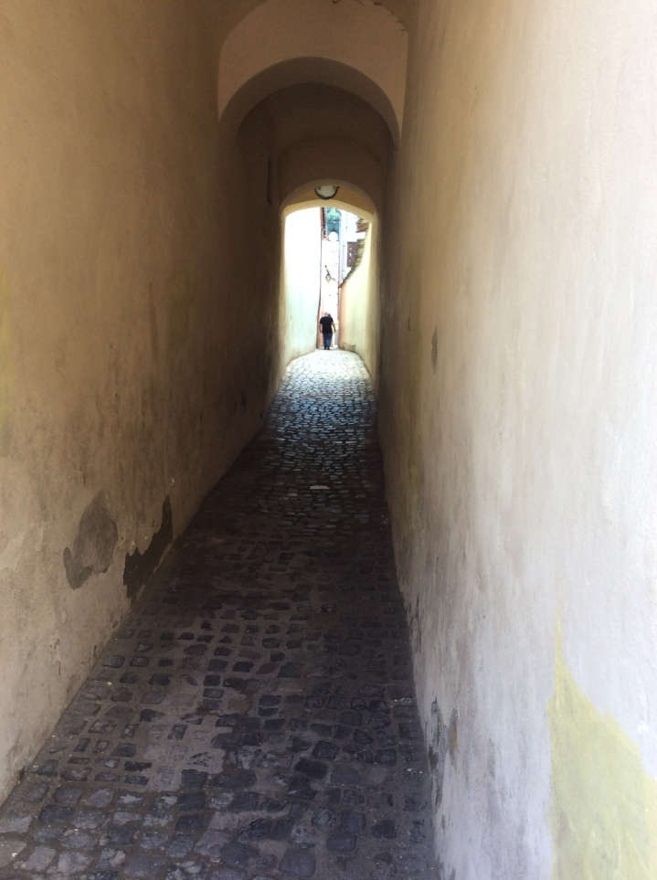 Strada Sforii (The String Street) - a narrow passage formerly used by the fire department. www.sforii.ro