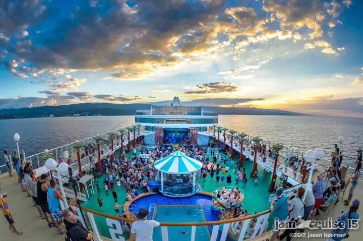 Jam Cruise 15, January 2017